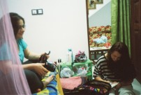 Bradi and Mari, Uditha's homestay