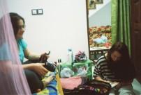 Bradi and Mari, Uditha's homestay