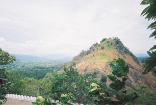 View from Dambulla caves
