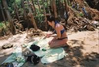 Sarah, Rekawa Beach